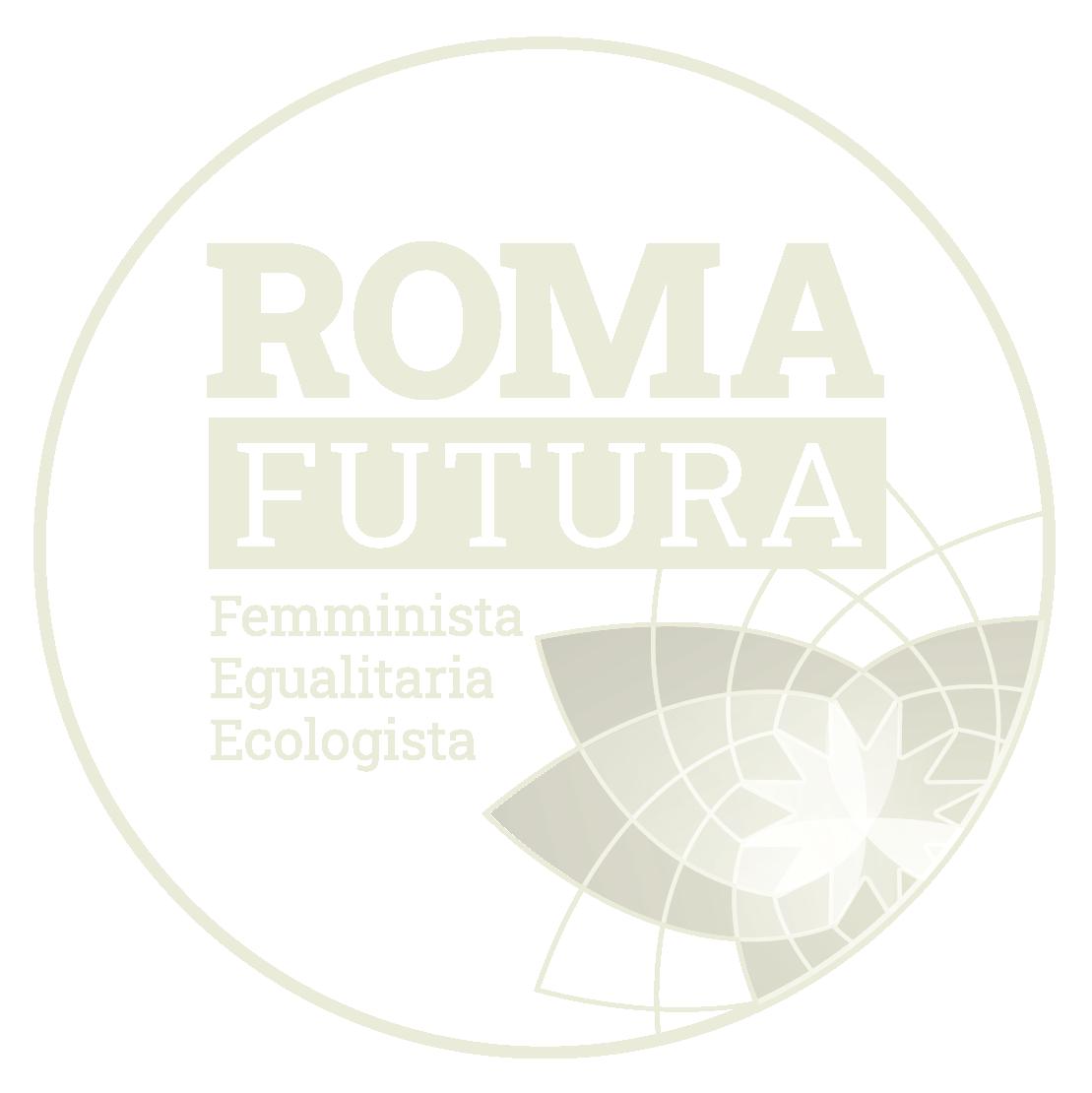 logo Roma Futura, chiaro