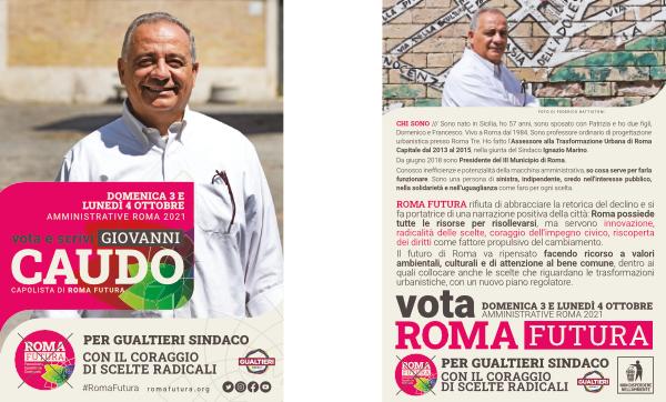 Roma Futura vota Giovanni Caudo