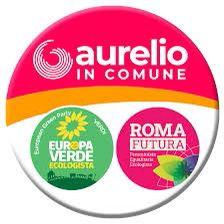 Logo Aurelio in Comune e Europa Verde e Roma Futura